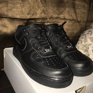 Airforce 1 black